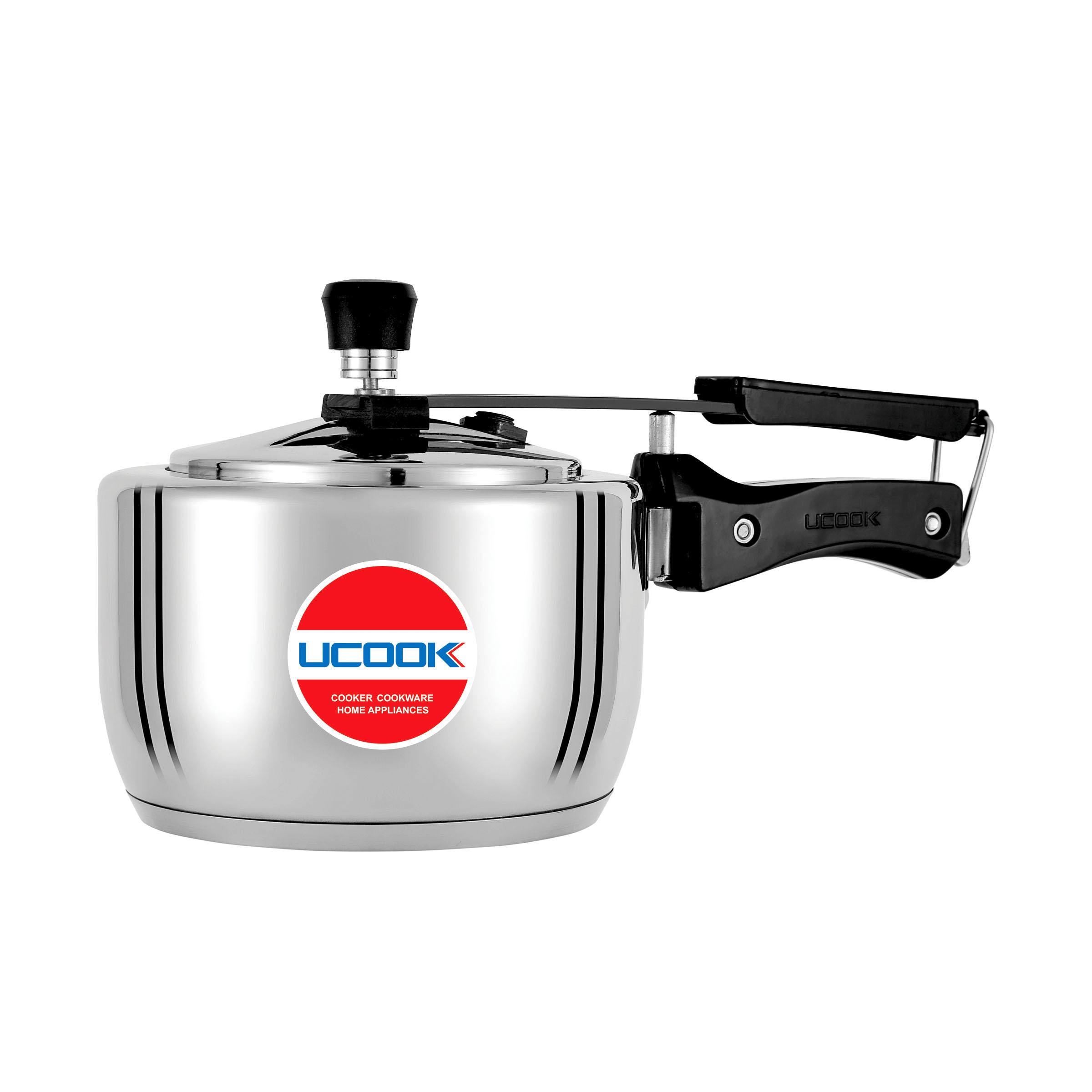 Pressure Cooker - UCOOK Platinum Steel Tuff 1.5