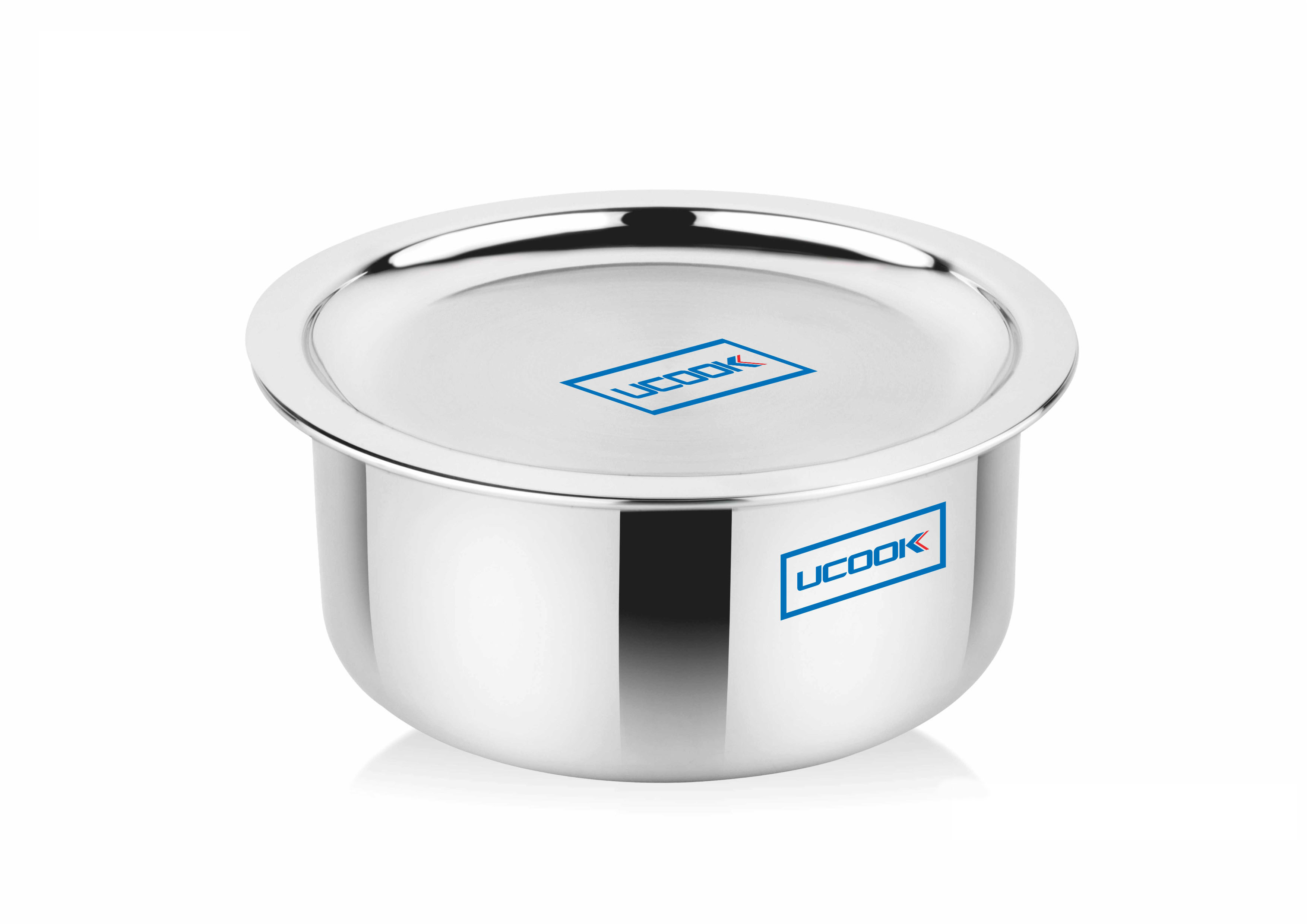 Cookware Premium- UCOOK SS Triply Tope induction compatible with Lid