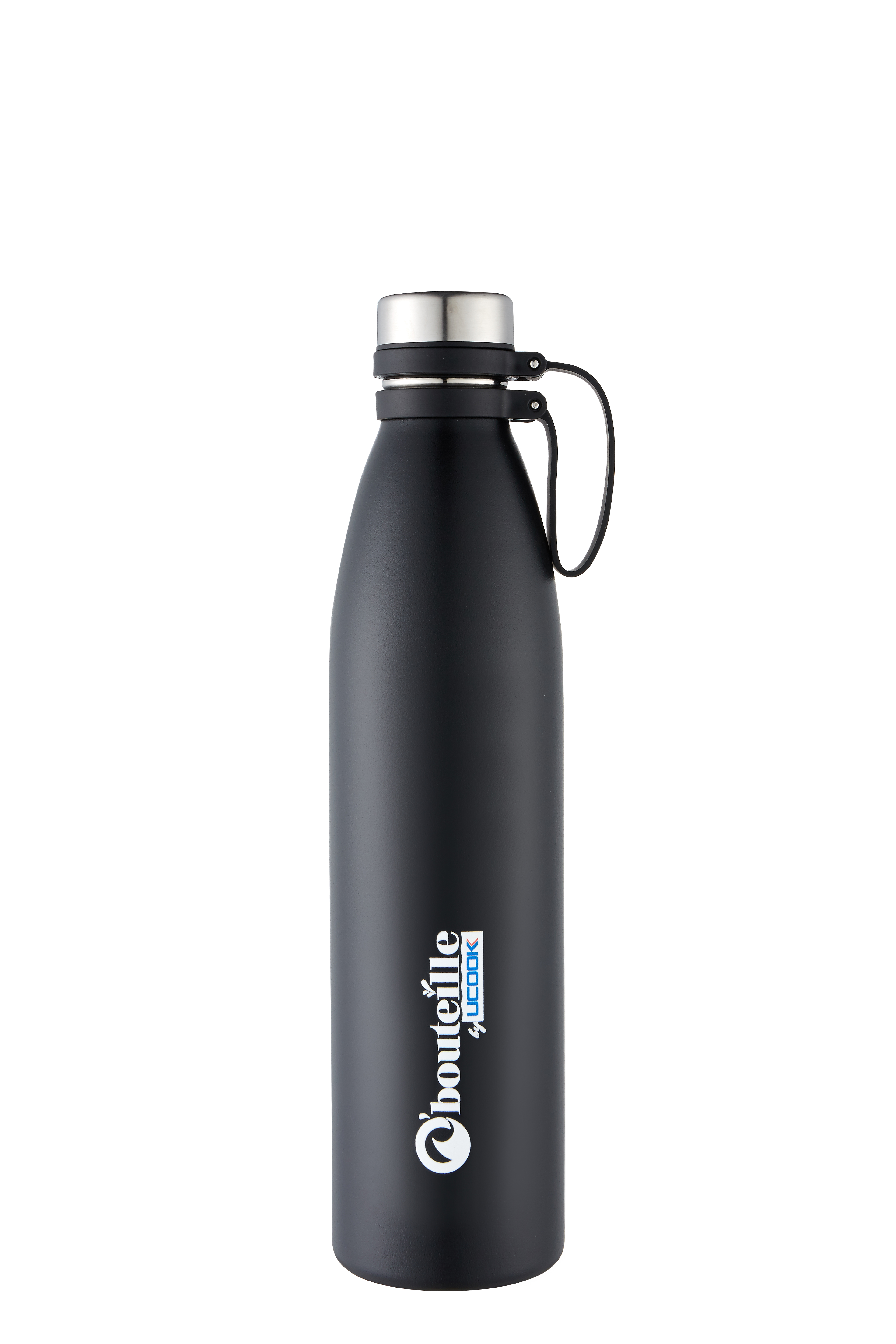 UCOOK O bouteille Vacuum Flask WP Black Color - 1000 ml