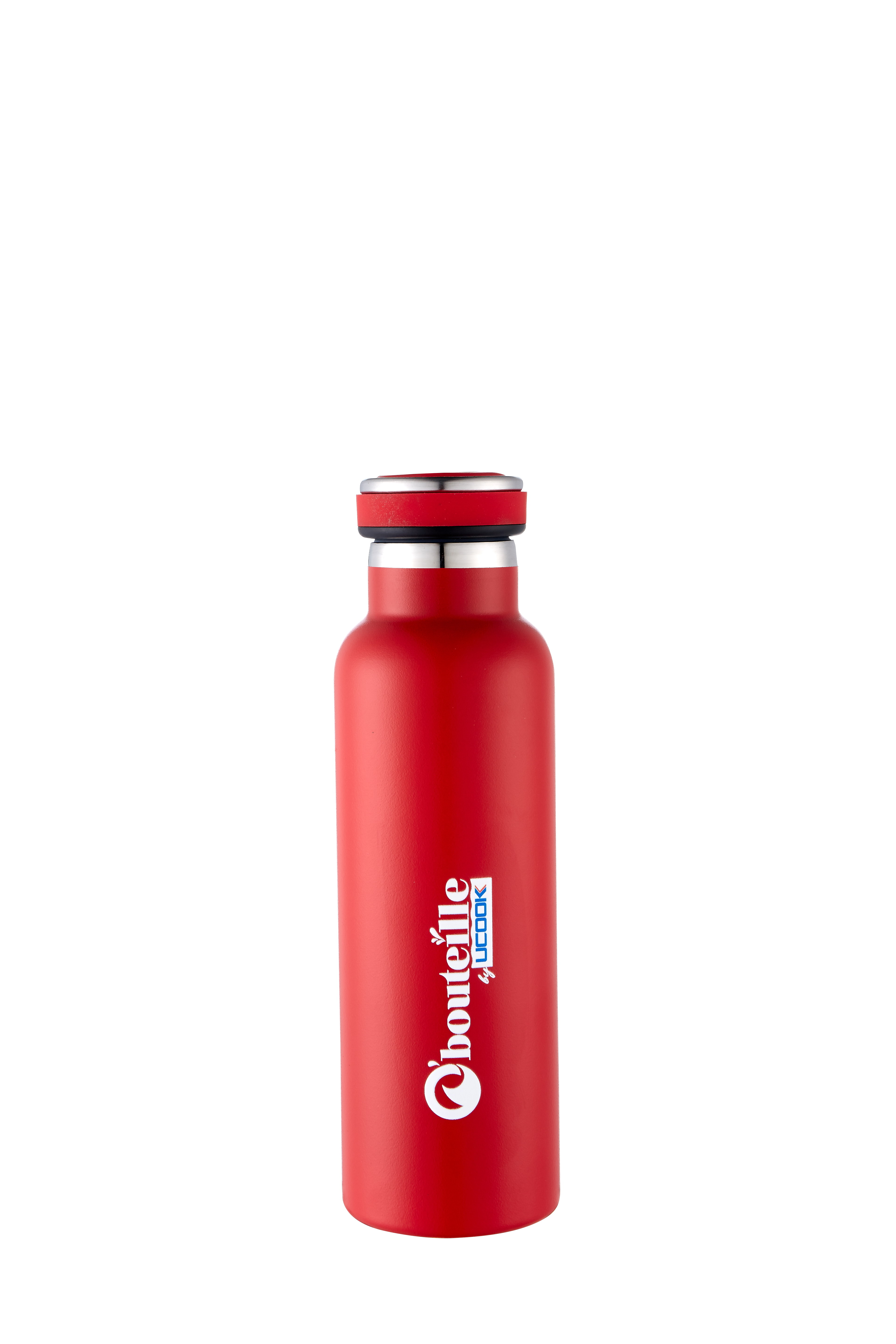 UCOOK O bouteille Vacuum Flask GYM Red Color