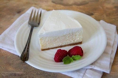 Recipe of Pressure Cooker Very Vanilla Cheesecake