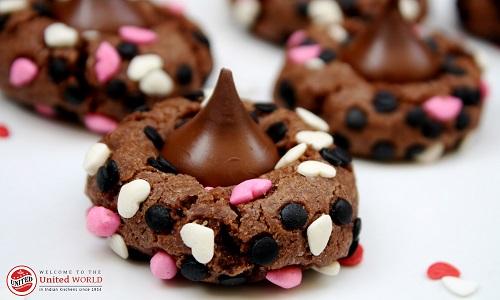 Recipe of Chocolate Kiss Surprise Cookies