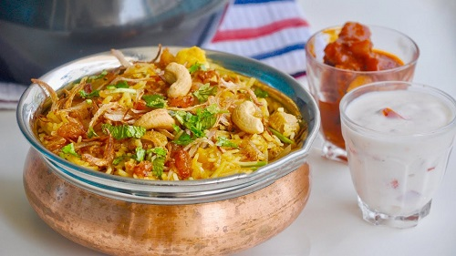 Recipe of Pressure Cooker Vegetable Biryani