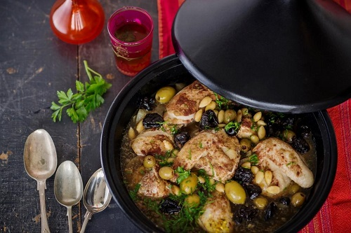 Recipe of Moroccan Chicken & Olive Tagine