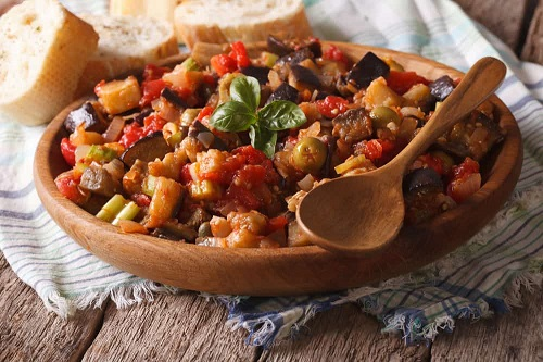 Recipe of Sicilian Summer Vegetable Medley - Caponatina pressure cooker recipe