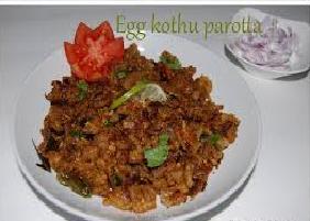 Recipe of Egg Kothu Parotta