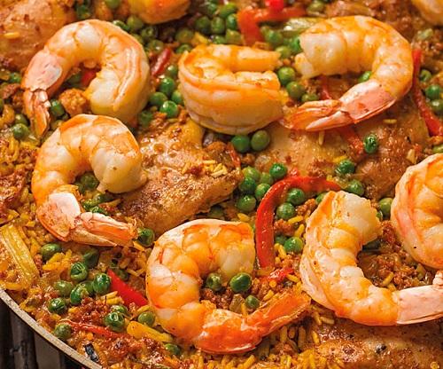 Recipe of Pressure Cooker Herbed Chicken and Shrimp