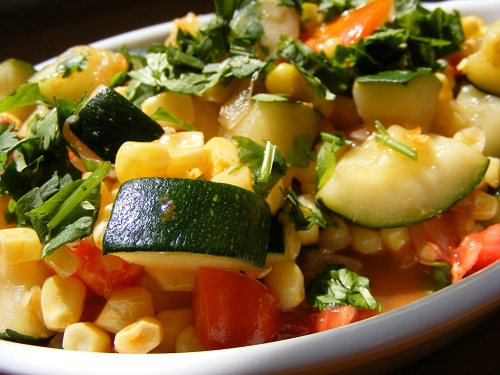 Recipe of Calabacitas Con Queso - Zucchini with Cheese