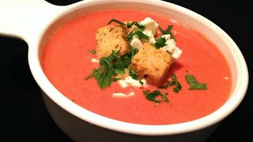 Recipe of Pressure Cooker Cream of Tomato Soup