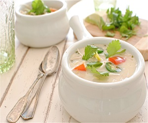 Recipe of Coconut Shrimp Soup