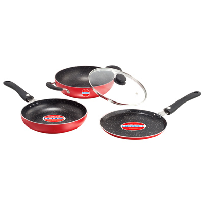 Cookware - UCOOK NS 3+1 Pcs set NEXA SERIES