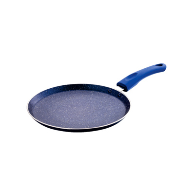 Cookware- UCOOK NS Dosa Tawa 250 mm/3 mm Speckle Finish/Soft Handles IC