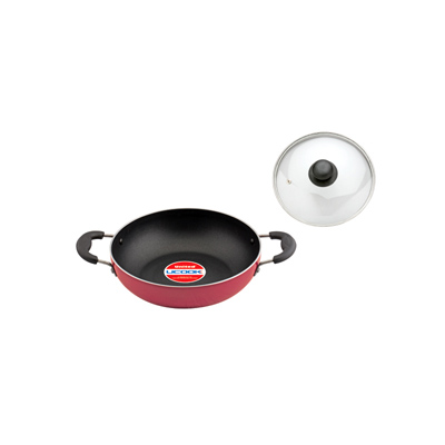 NS Kadai with Lid & Induction Base 220mm/3mm