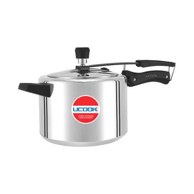 Pressure Cooker UCOOK Platinum UTB Inner lid Aluminium with IC Thick Base