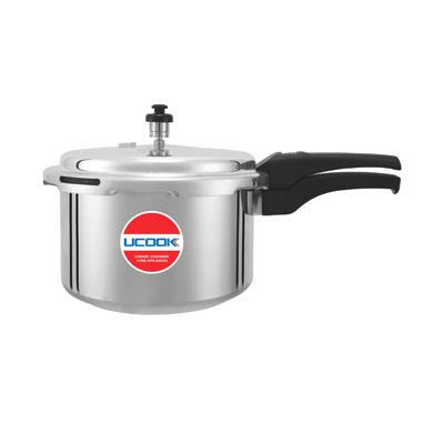 Pressure Cooker - UCOOK Platinum O/L Aluminium Pentola Dlx 2L