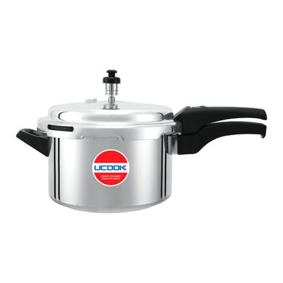 Pressure Cooker - UCOOK Platinum O/L Aluminium Pentola Dlx 5L
