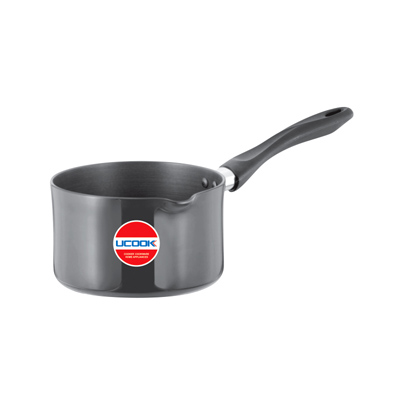Ucook Platinum HA Sauce Pan Non Induction Base 1Ltr