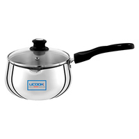 UCOOK Platinum SILVER TEA PAN I/Compatible 2 Ltr