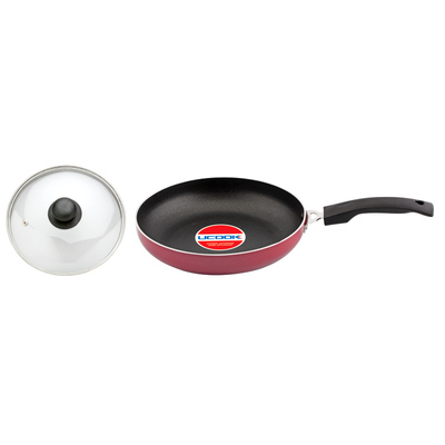 Cookware - UCOOK Platinum NS  FRYPAN + Glass lid (240 mm/3 mm )