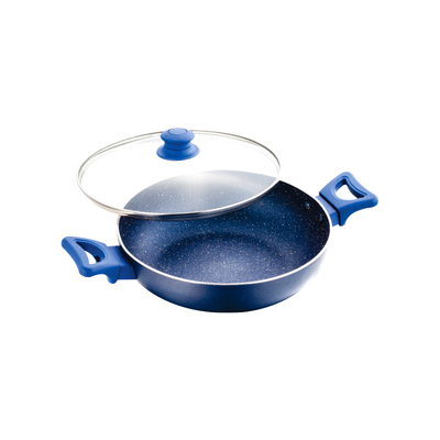 Cookware - UCOOK Platinum NS KADAI - SPECKLE FINISH 240mm/3mm/2.5lt