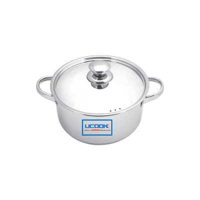 UCOOK Platinum LIFETIME CASSEROLE WITH LID 200 MM
