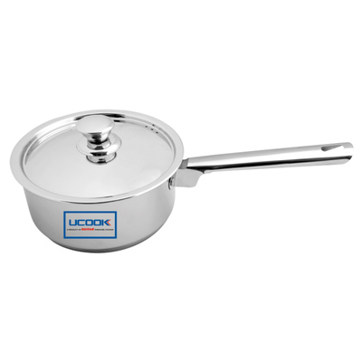 UCOOK Platinum LIFETIME SAUCE PAN 200 MM S.S