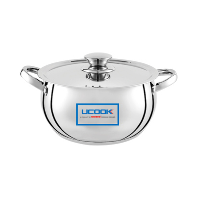 UCOOK Platinum LIFETIME COOK N SERVE Bulging 160 Induction with lid