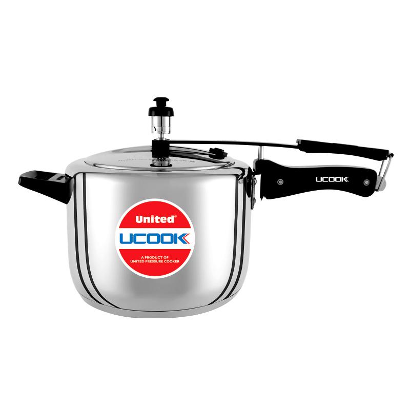 Pressure Cooker- UCOOK Platinum SteelTuff 5 Ltr