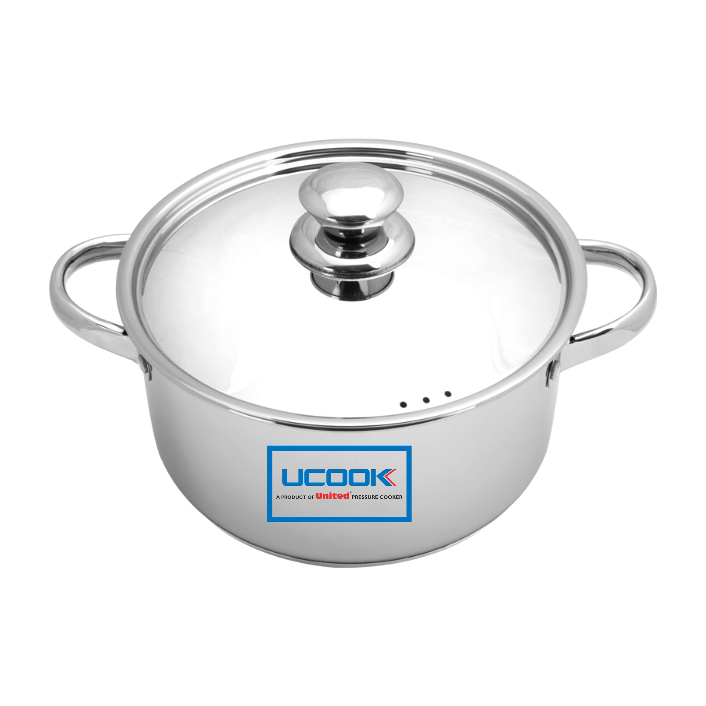 UCOOK LIFETIME CASSEROLE WITH LID 220 MM