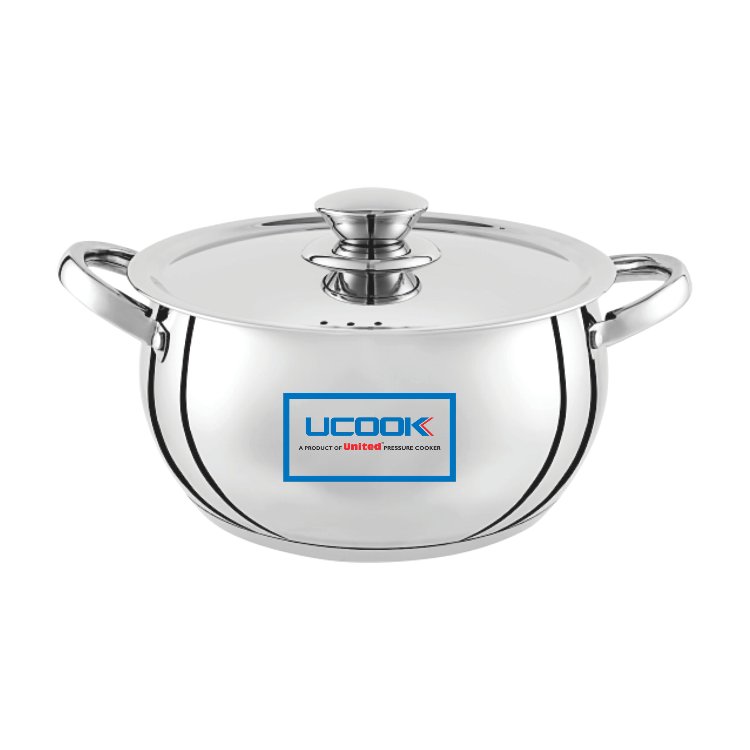 UCOOK SS LIFETIME COOK N SERVE Bulging 200 Induction with lid 1500